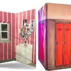 Grease Bedroom & Locker Flat