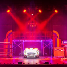 Grease Car & Theatre Set