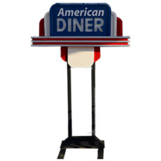 Grease Diner Bar Sign