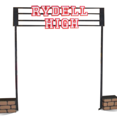 Grease Rydell High Sign