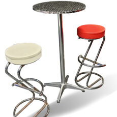 Grease Poseur Table & Stools