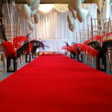Wedding White Curtain Backdrop