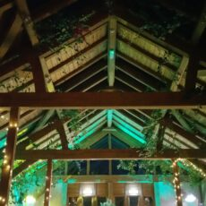 Wedding Barn Lighting