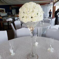 Wedding Martini Vase Table Centre