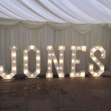 Wedding Giant LED Letters