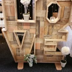 Wedding Giant Wooden Love Letters