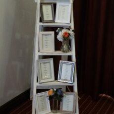 Wedding Personalised Ladder Table Plan