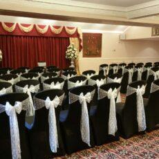 Wedding Venue Dressing - Lace