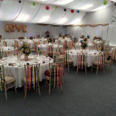 Wedding Venue Dressing - Barn
