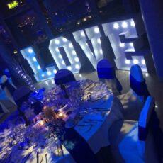 Wedding Venue Dressing - Winter Wonderland
