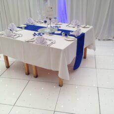 Wedding White Twinkling Dancefloor