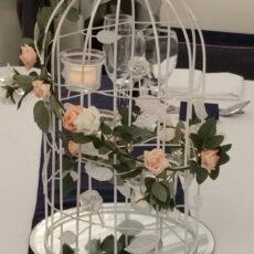 Wedding Birdcage Table Centre