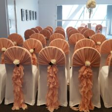 Wedding Chair Covers & Hoods