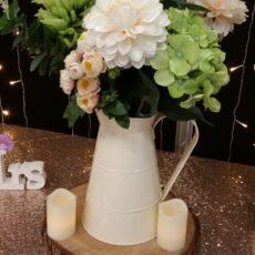 Wedding Jug Table Centre