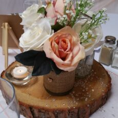 Wedding Trio Vase Table Centre